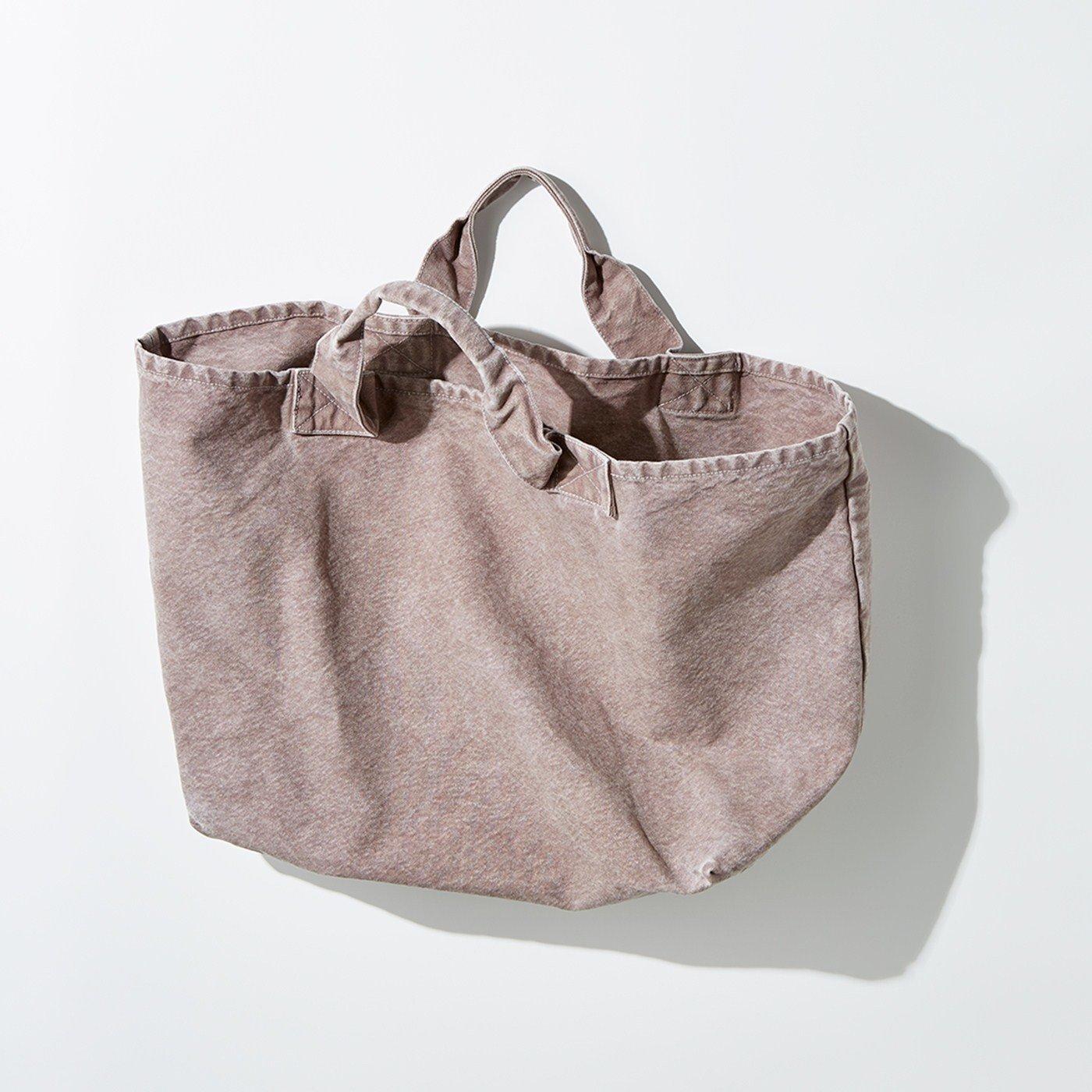MEDE19F 製品染めコールバッグ〈ピンク〉
