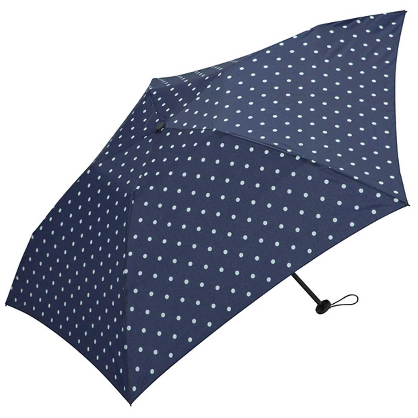わずか約90g! コンパクトで持ち運びもらくらく 軽量折りたたみ傘