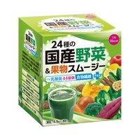 フェリシモ 乳酸菌44億個!健康にうれしい24種の国産野菜&果物スムージーの会