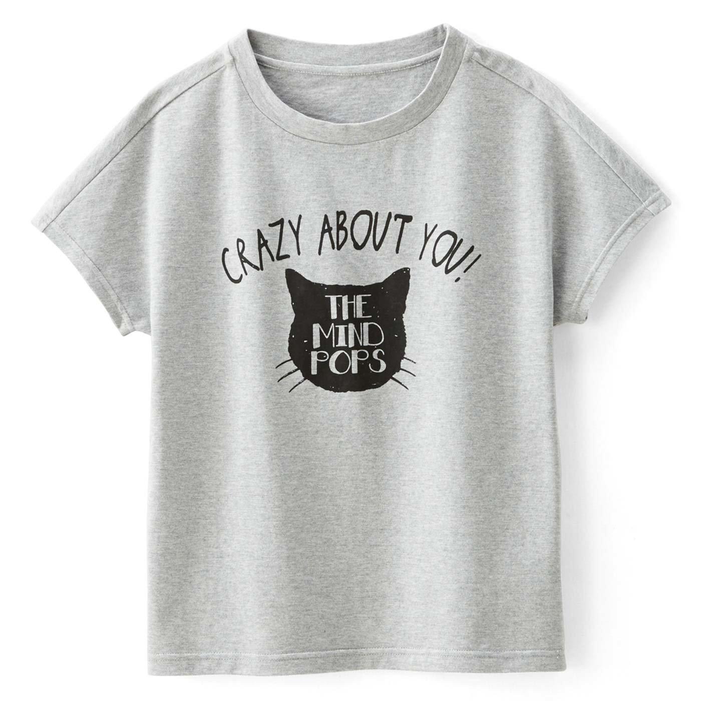 にゃんこに夢中 インパクトTシャツ