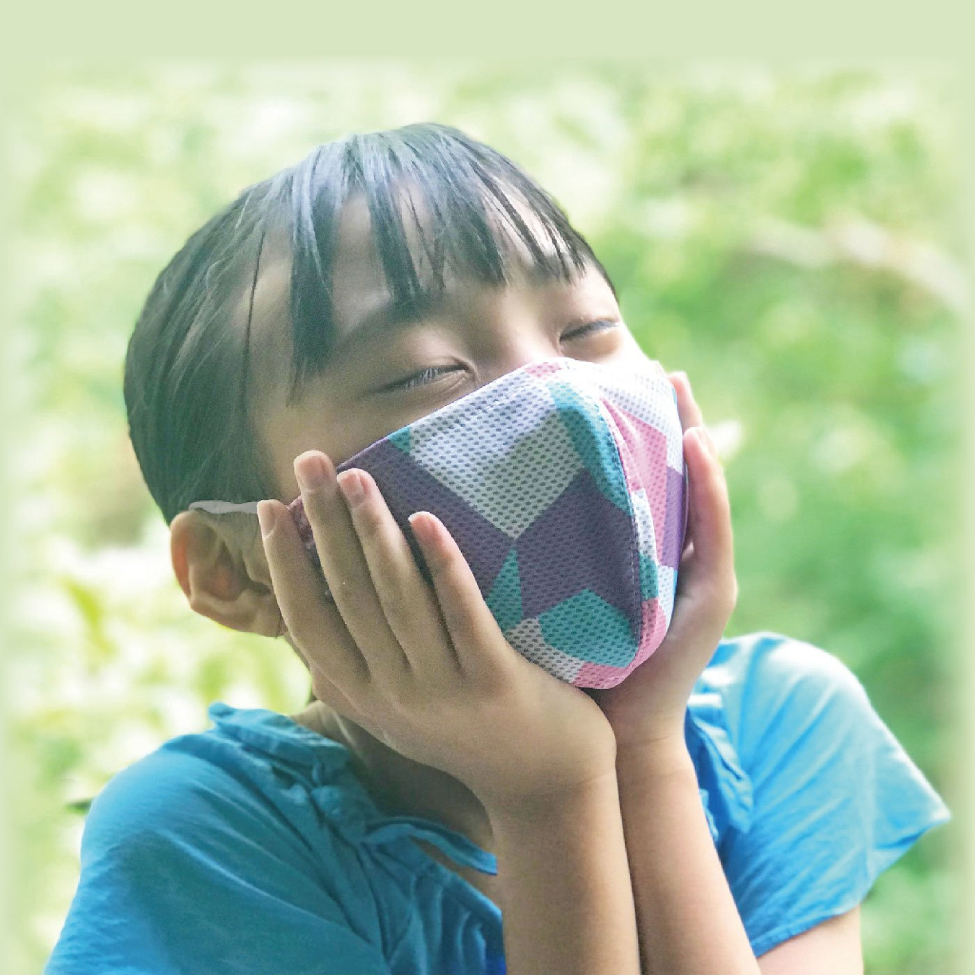 UVカット ウォータークールマスク 小さめサイズ