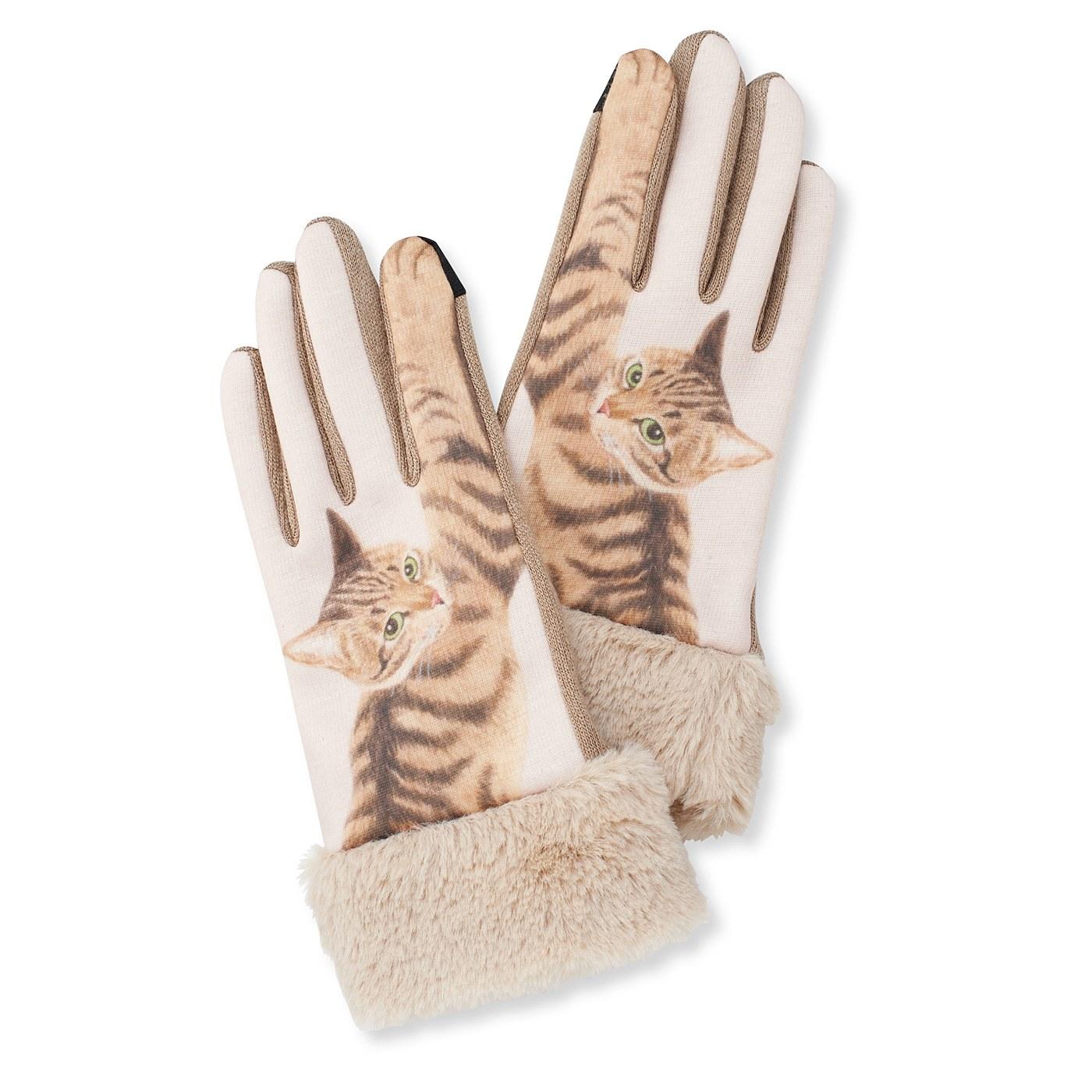 YOU+MORE! スマートフォン対応 猫パンチ手袋