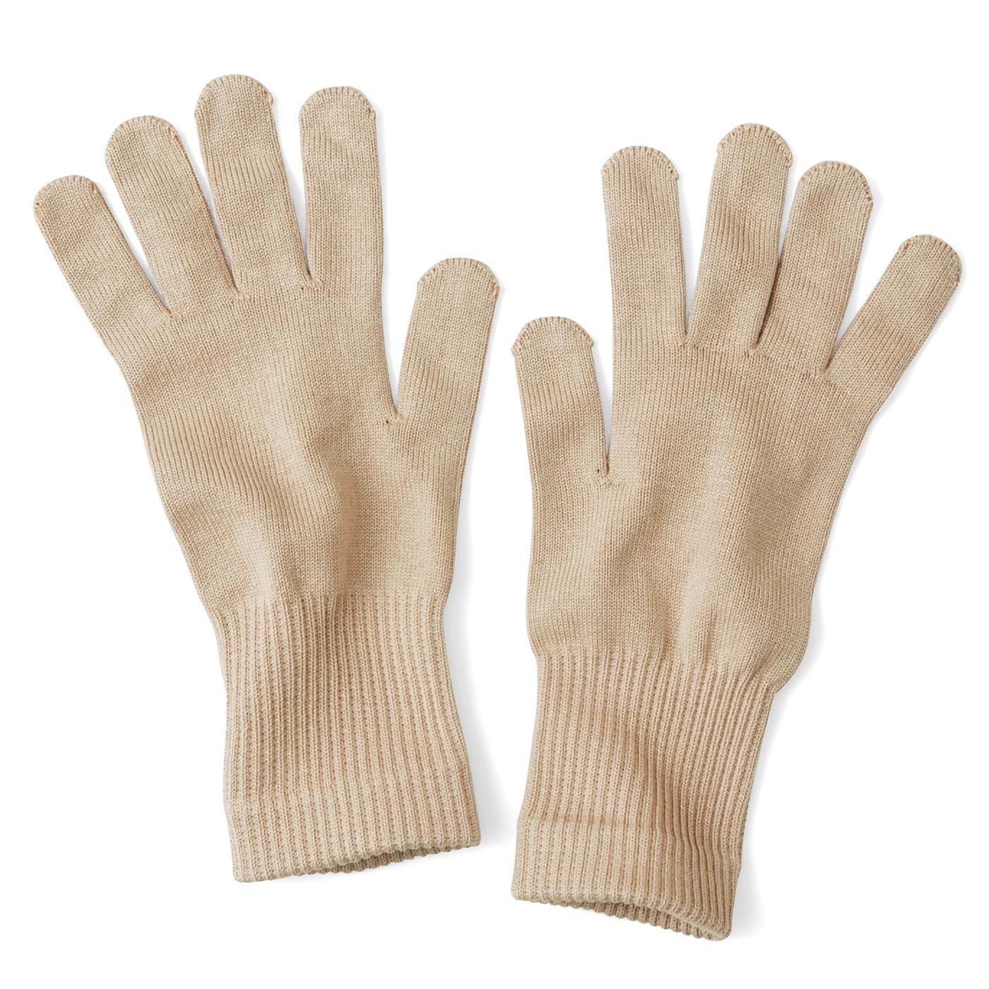 シルク好き必見 一日中使えるおやすみ手袋