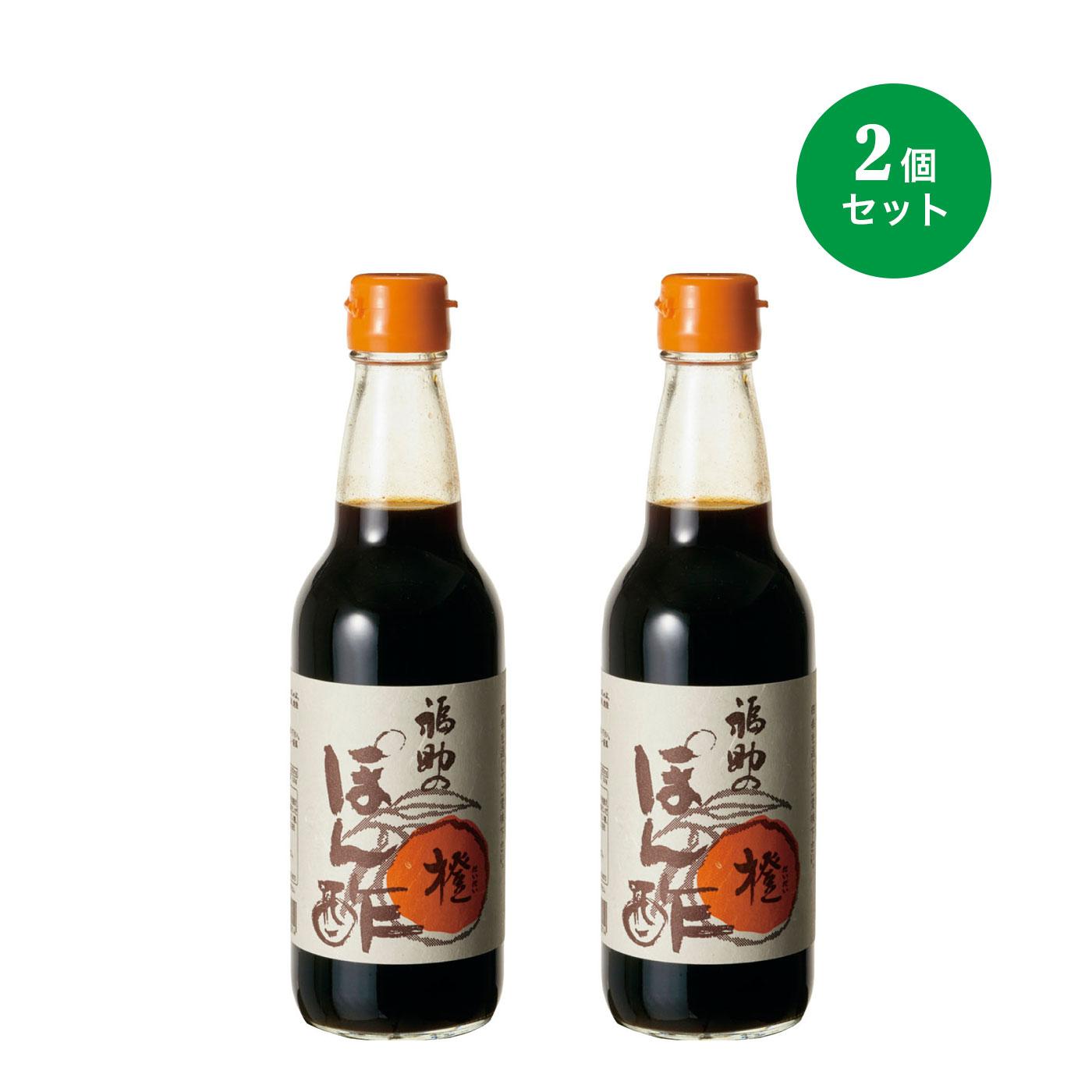 フェリシモ 国産原料使用手づくり橙ポン酢2本セットの会【定期便】