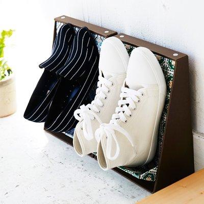 RoomClip商品情報 - 玄関すっきり あふれた靴を壁際に整列 立て掛け靴ラックの会 フェリシモ FELISSIMO