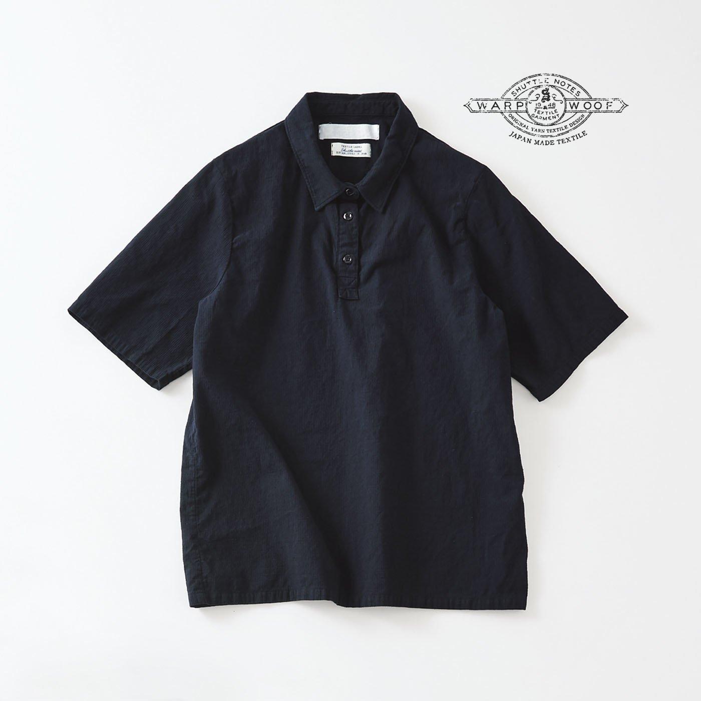 サニークラウズ feat. Shuttle Notes ポロシャツ風シャツ〈レディース〉