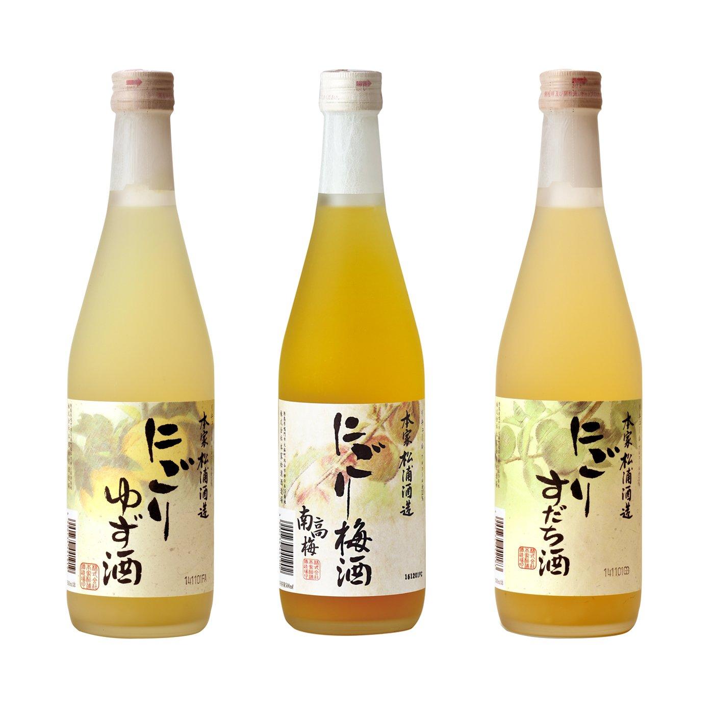 松浦酒造 果実を使ったにごりリキュールセット