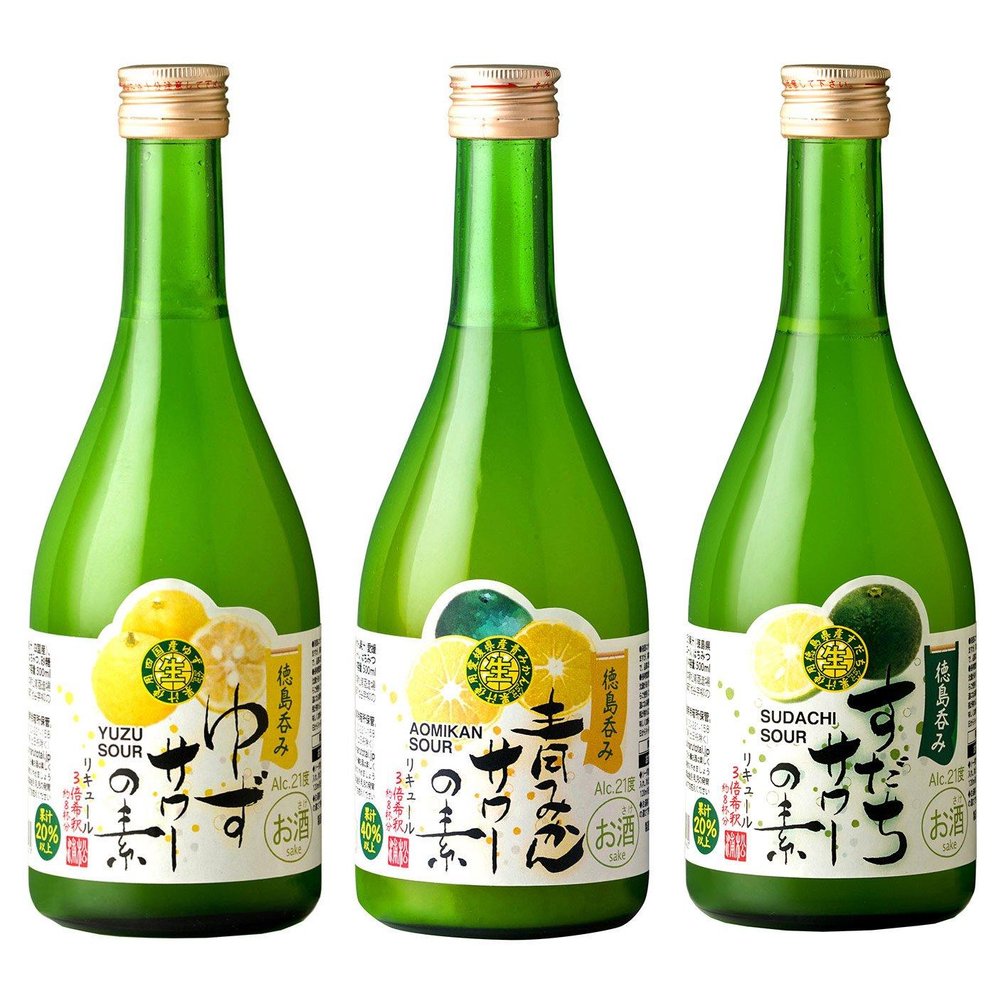 松浦酒造 サワーの素3種セット