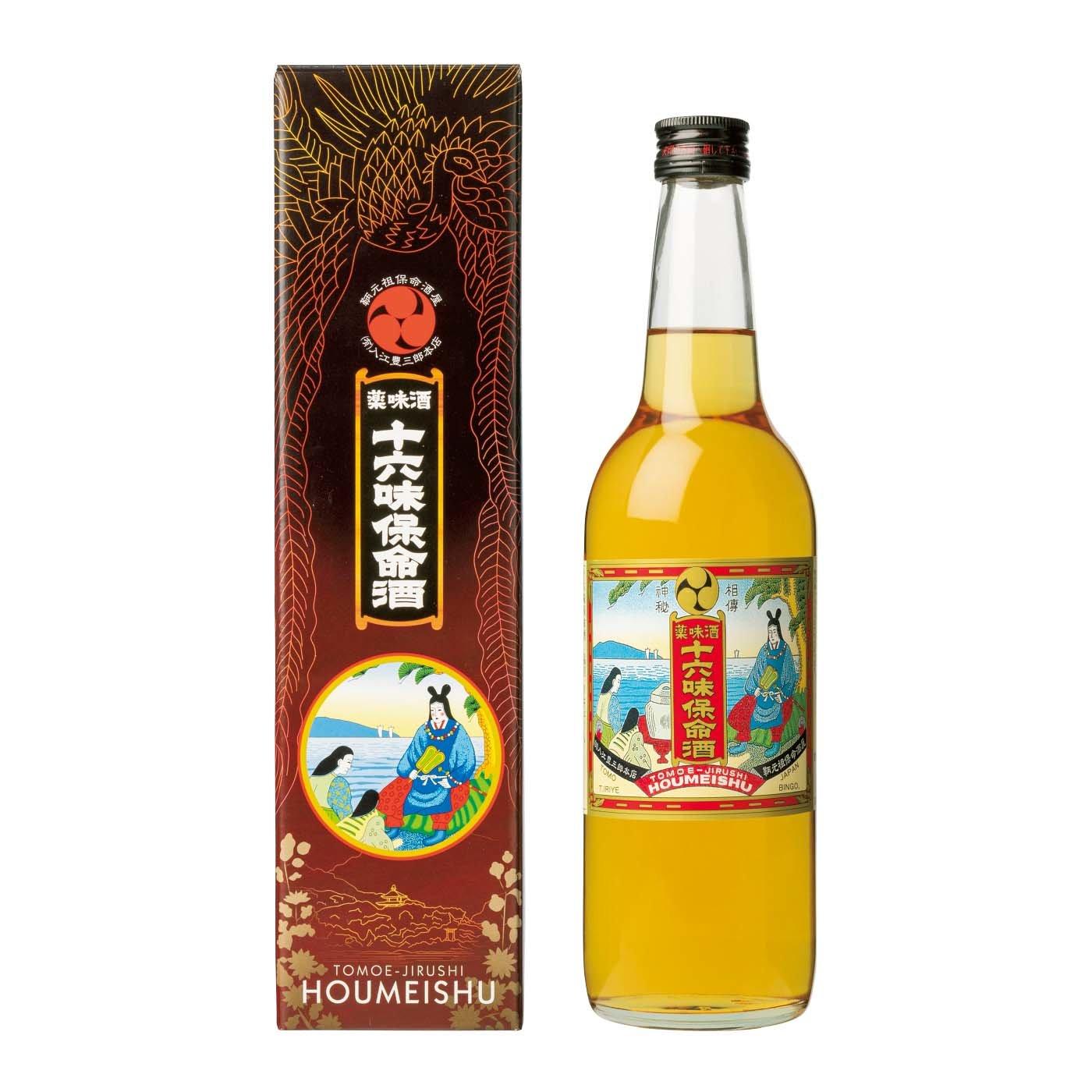 入江豊三郎本店十六味保命酒