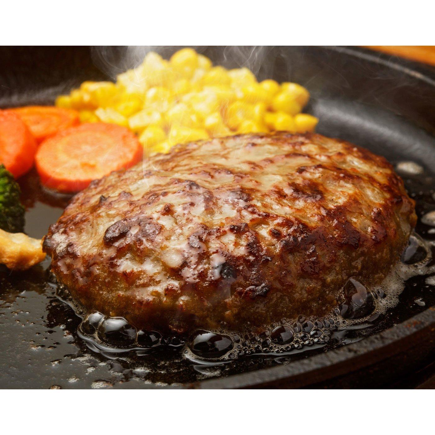 黒毛和牛焼肉「はらだ本店」 黒毛和牛焼きハンバーグ「湯煎タイプ」
