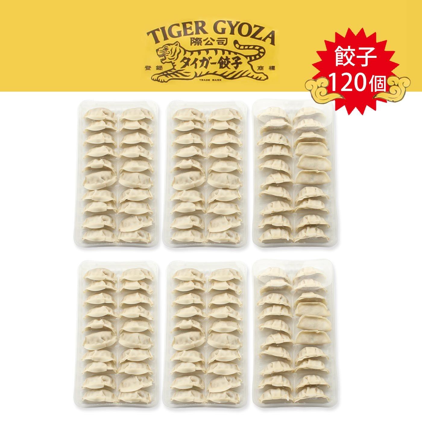 タイガー餃子会館 アレンジ自在のやみつき冷凍餃子120個セット