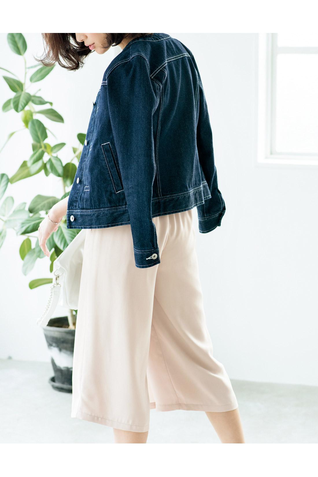 スカートに見えて実はパンツ!