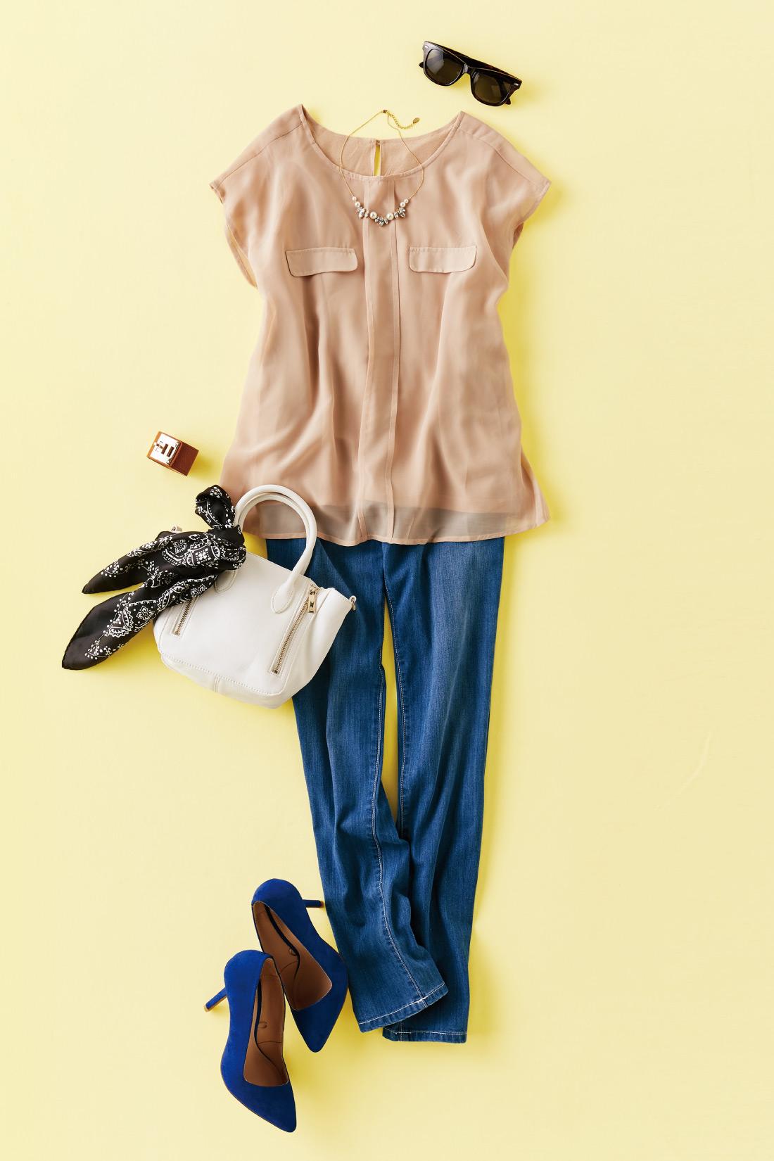 ※バッグ、シューズ、帽子、スカーフ、アクセサリーなどの小物はお届けセットには含まれません。 ※これはイメージ画像です。