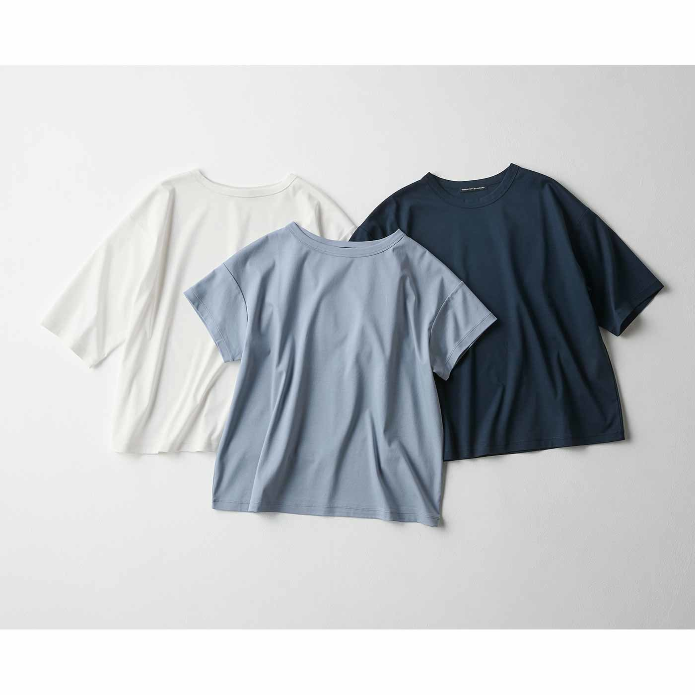 THREE FIFTY STANDARD シルケット加工のこなれたTシャツの会
