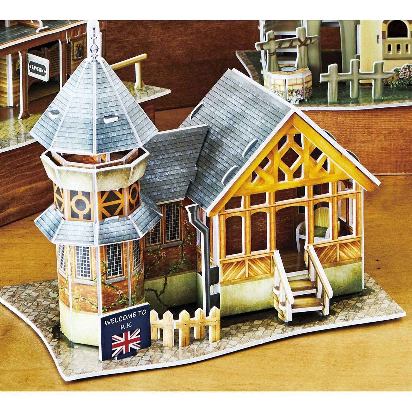 いつかは行ってみたい世界の街並みが作れる 3Dクラフトモデルの会