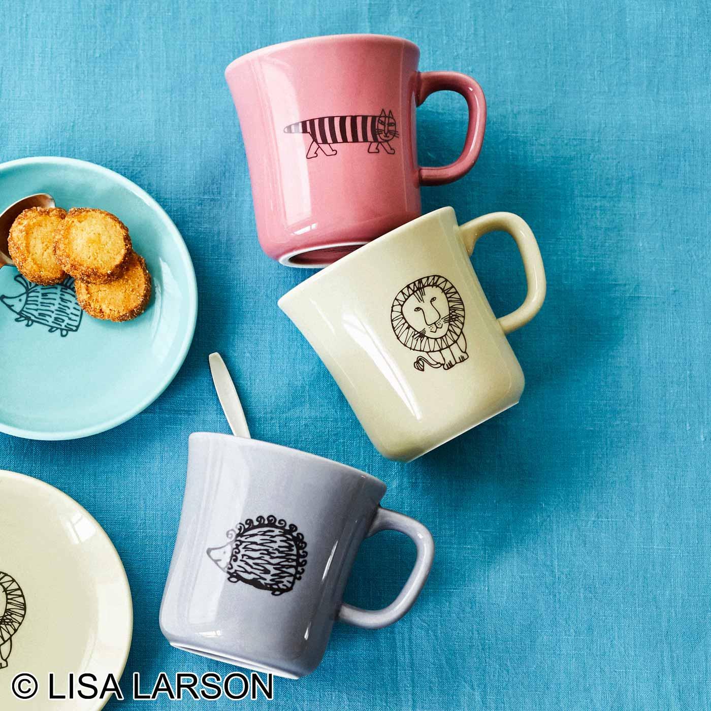 フェリシモ リサ・ラーソン ニュアンスカラーで彩るお茶時間 たっぷり入るマグカップの会