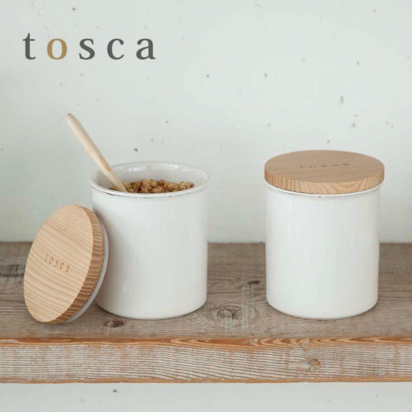 tosca 陶器キャニスター
