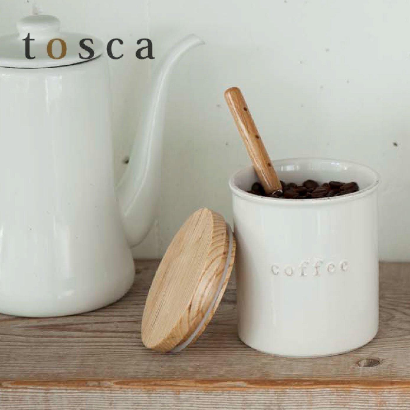 tosca 陶器キャニスター コーヒー