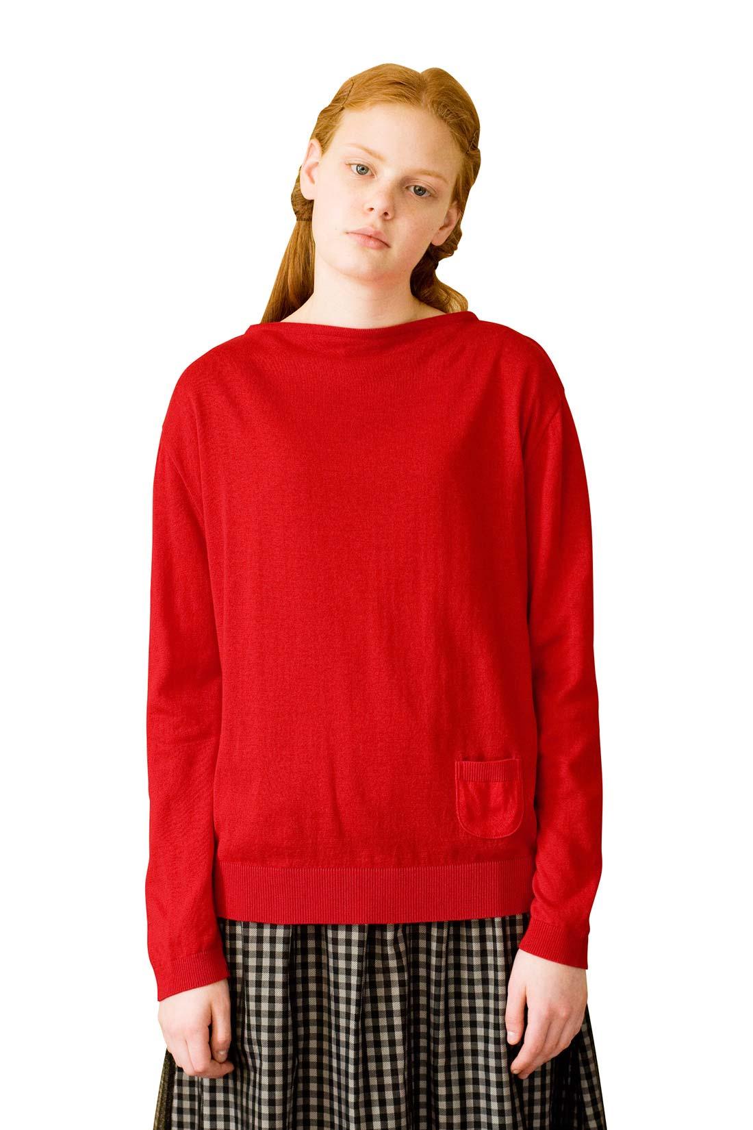 どちらを前にしても着られるよ。 ※着用イメージです。お届けするカラーとは異なります。