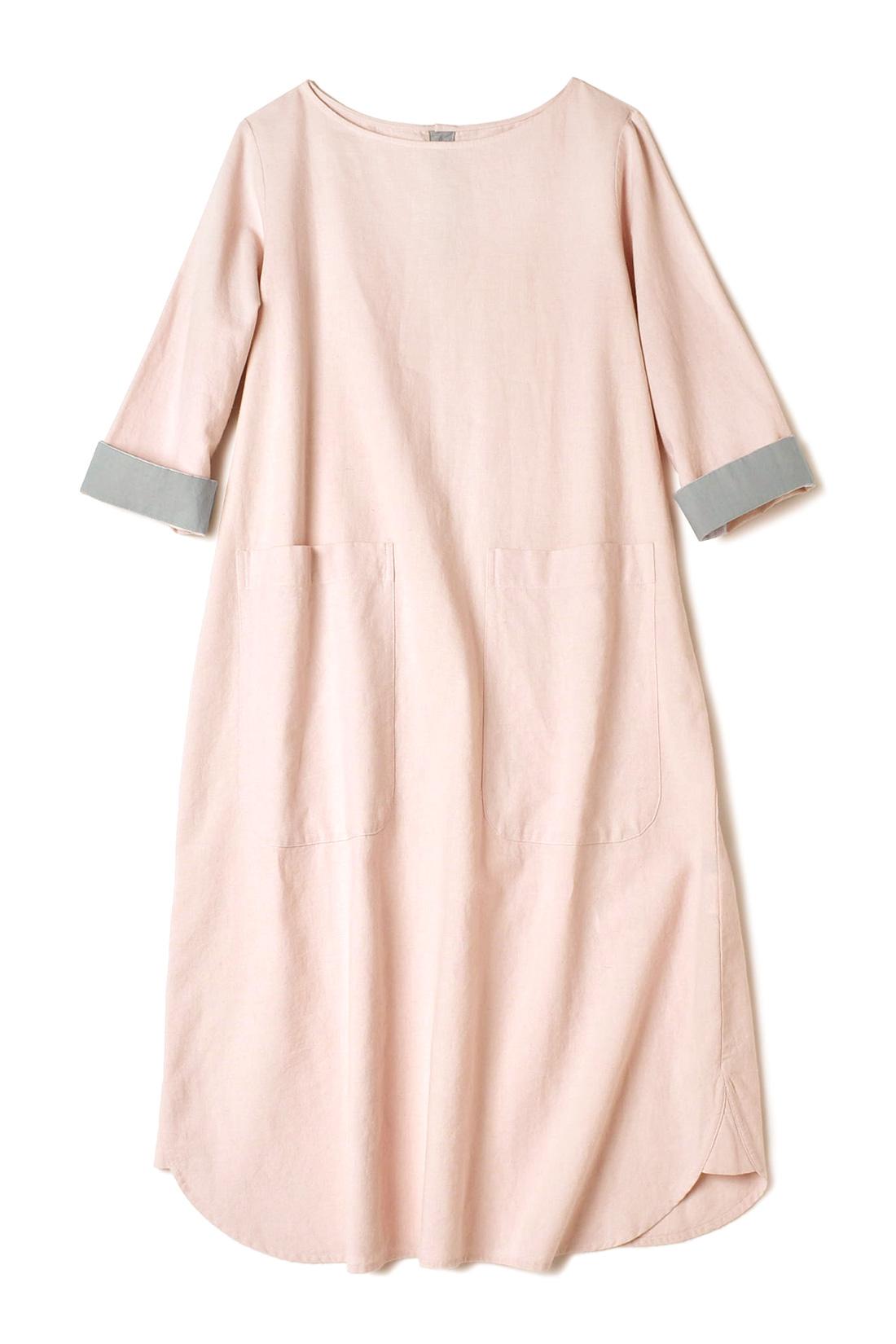 【ベビーピンク】折り返して着ても◎。