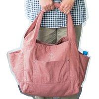 <フェリシモ> 古着屋さんで見つけたような 大きめくたくたトートバッグ画像