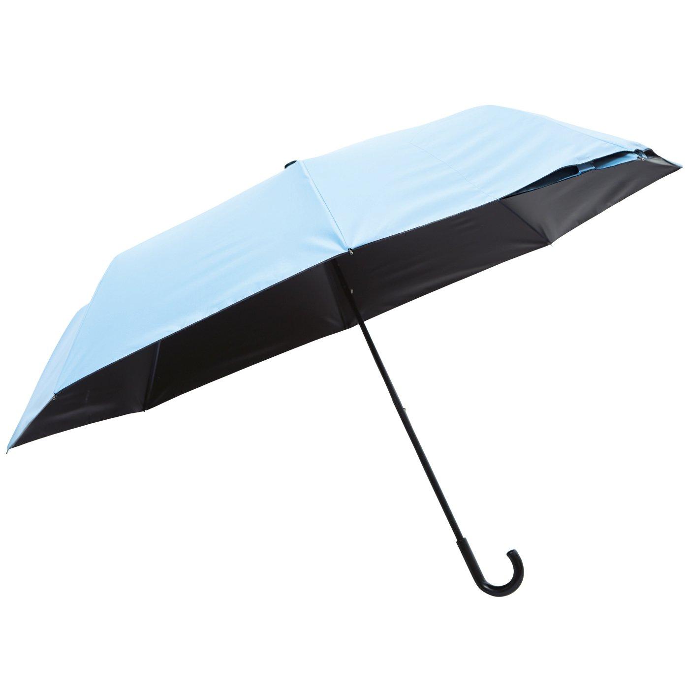 くるりんでバッグにさっと収納 UVカットも遮光もおまかせ! 晴雨兼用折りたたみ傘
