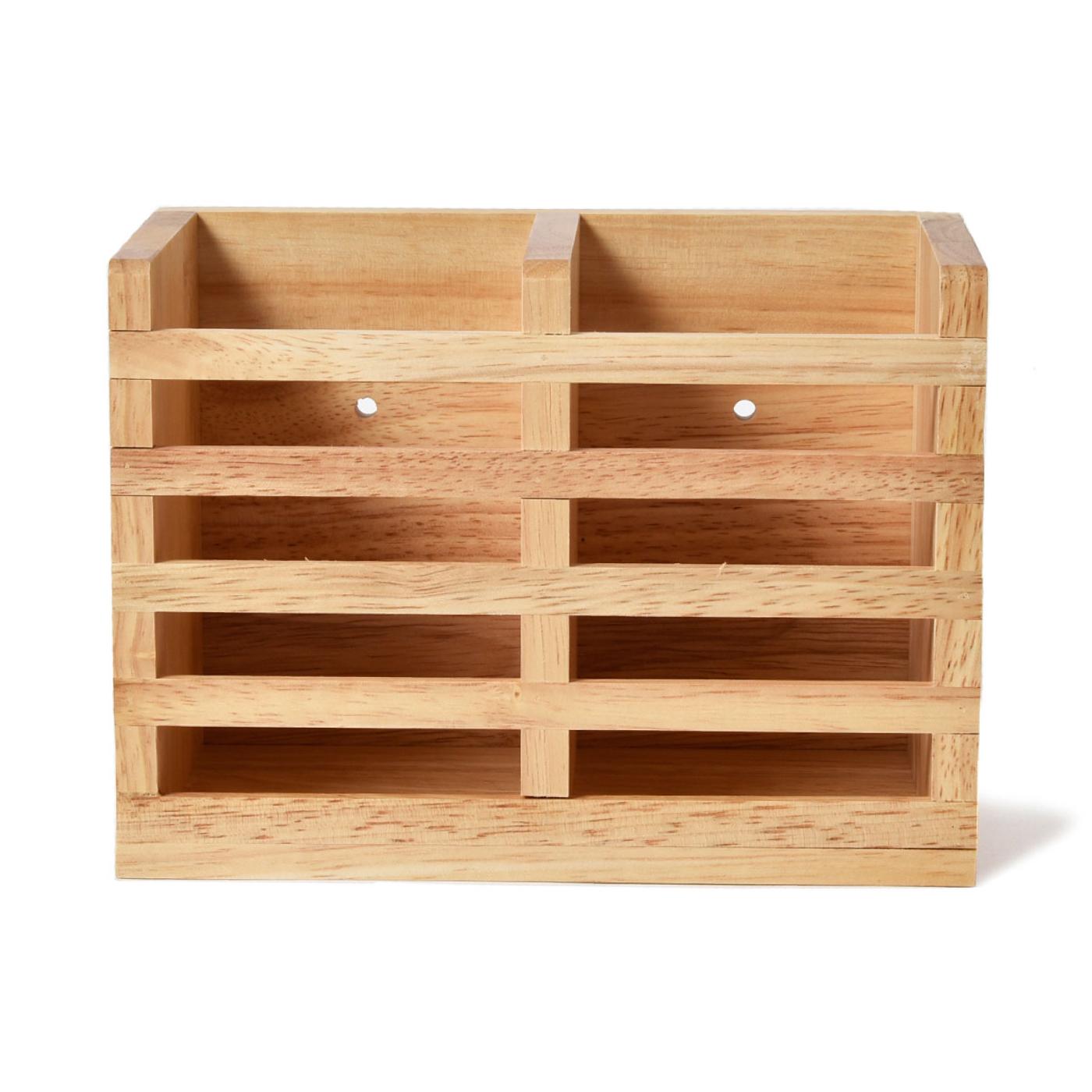 キッチンをおしゃれに演出!木製カトラリースタンド <ボヌール>