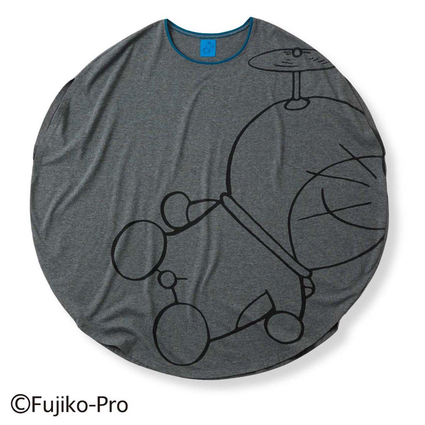 【3~10日でお届け】ドラえもん まんまるプリントTシャツ