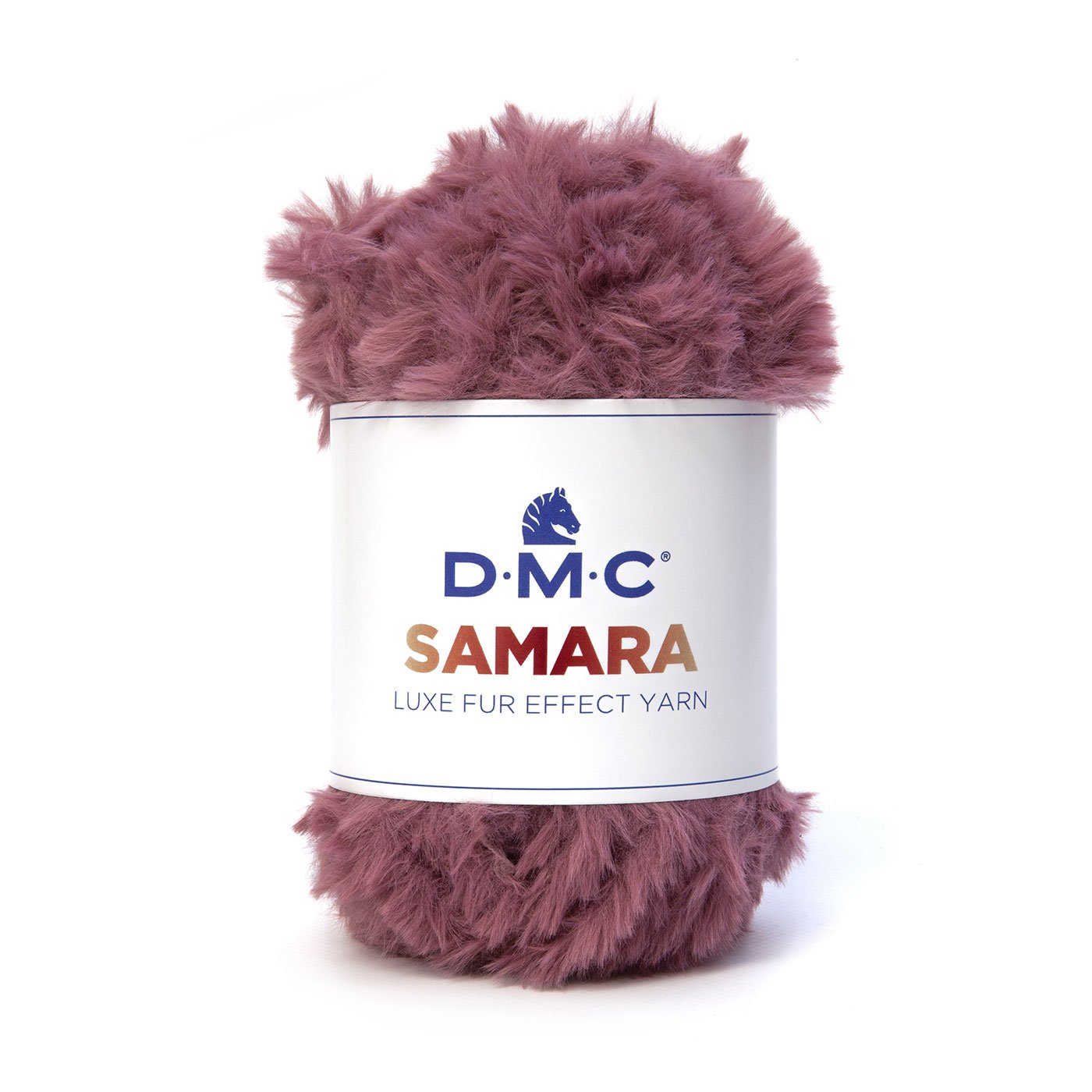 ファーのような贅沢な触り心地 DMC極太糸SAMARA(サマラ)スヌードのレシピ付き