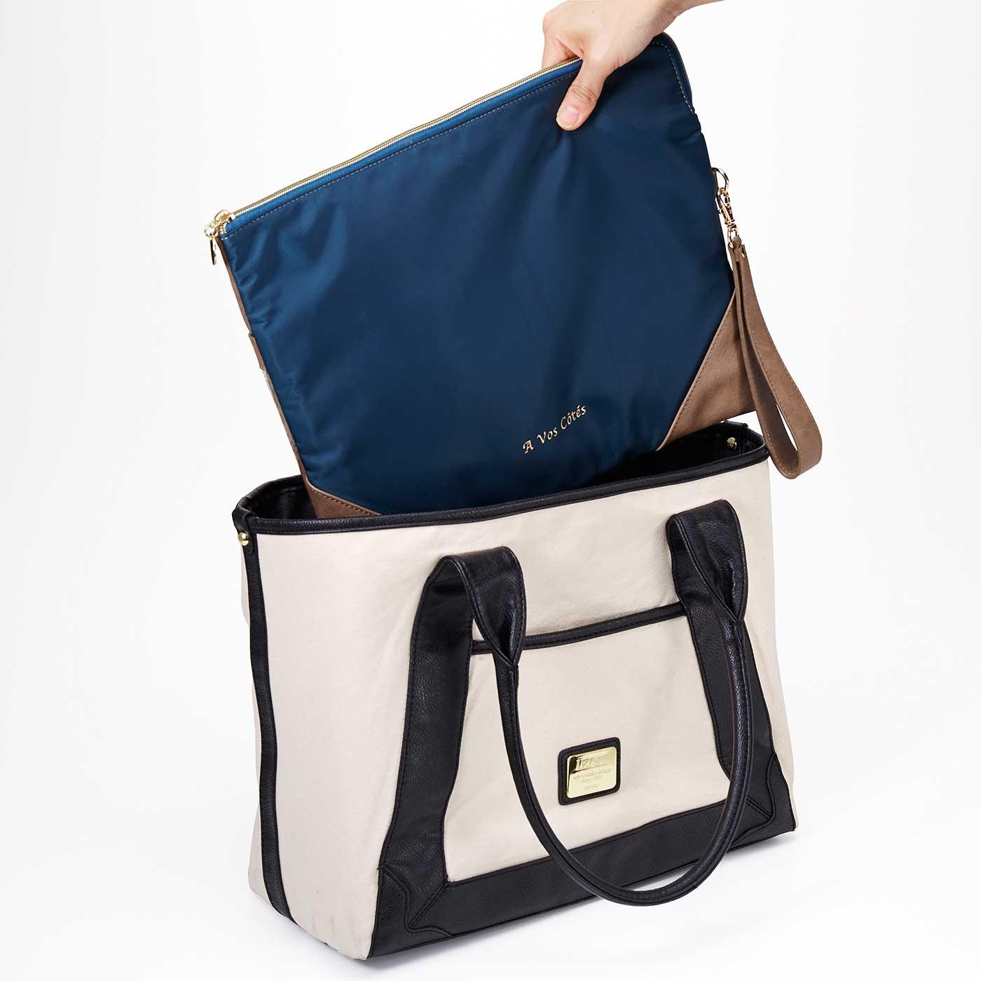 打ち合わせに必要なものを入れておけば、バッグからさっととりだせます。