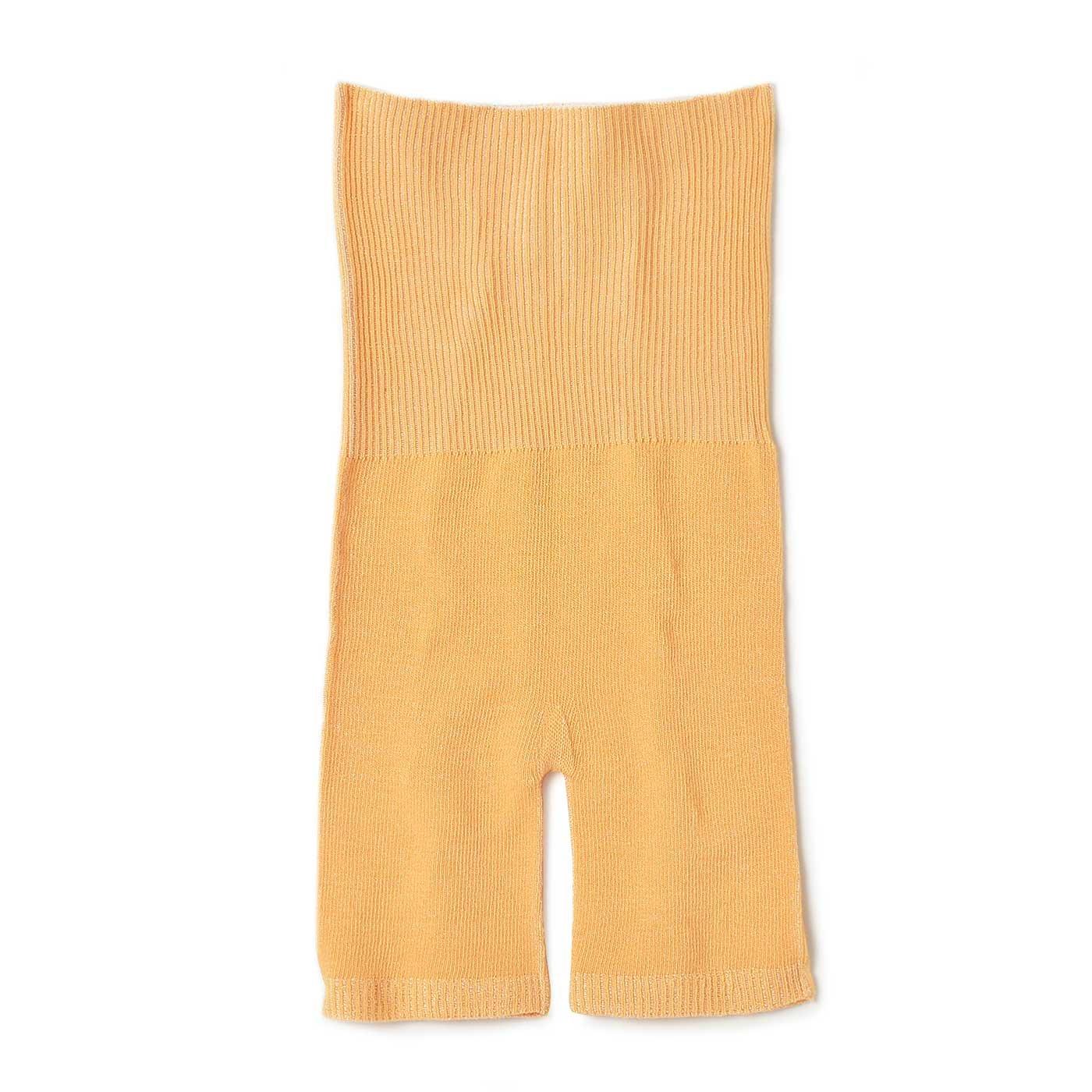 リブ イン コンフォート シルクに包まれるはき心地 ビタミンカラーのインナーパンツ〈オレンジ〉