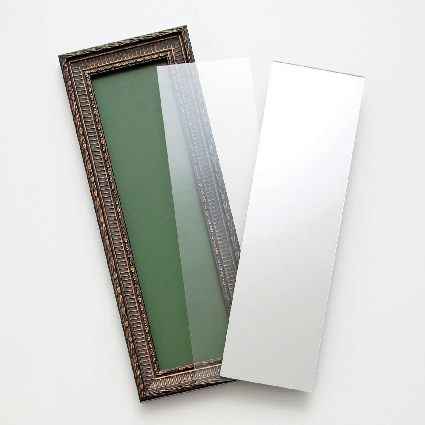 ●1回のお届けセット例です。透明窓付きでフレームとしても使用できます。