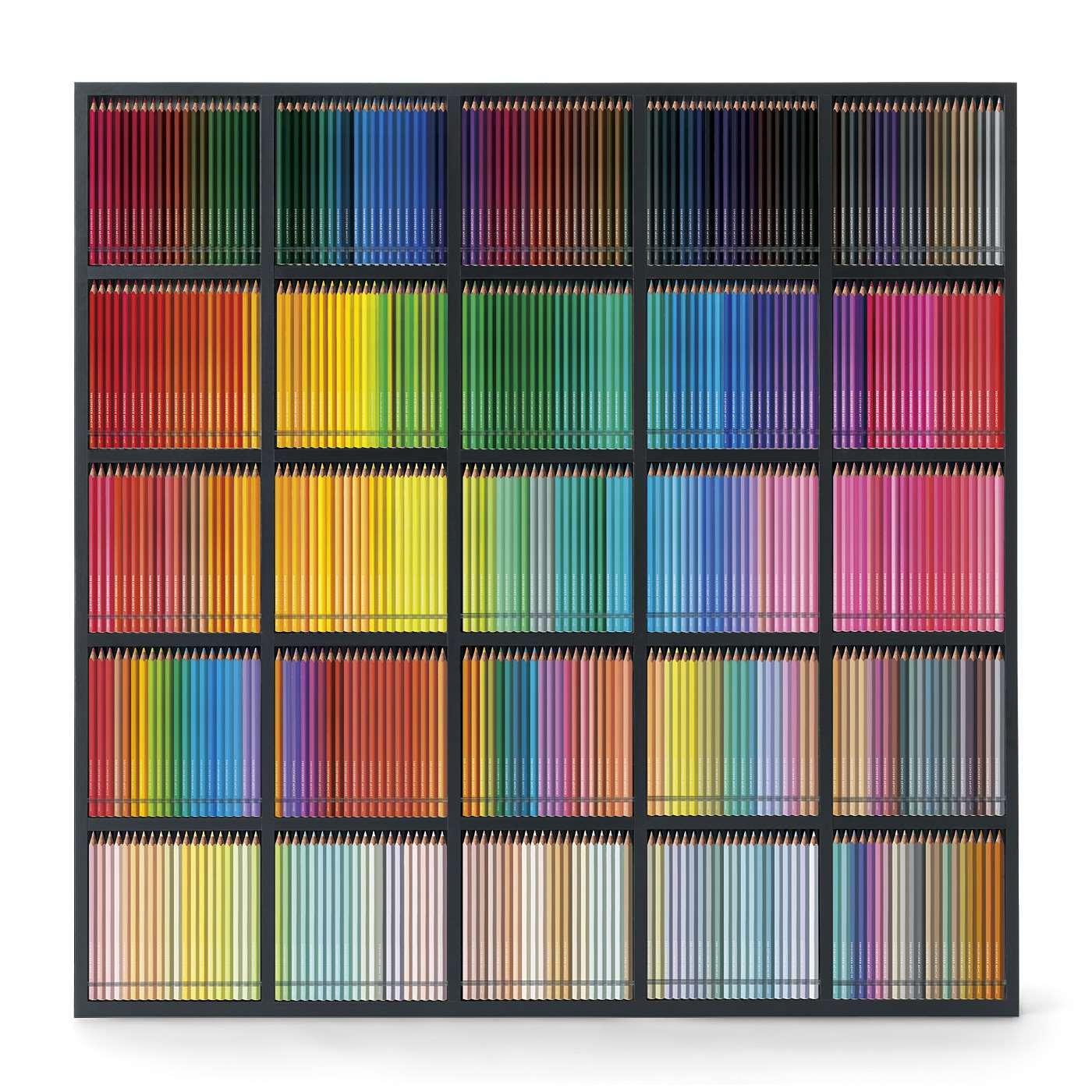 並べ方は自由。500色をお好きなレイアウトで並べてくださいね。