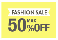 FASHION SALE MAX50%OFF
