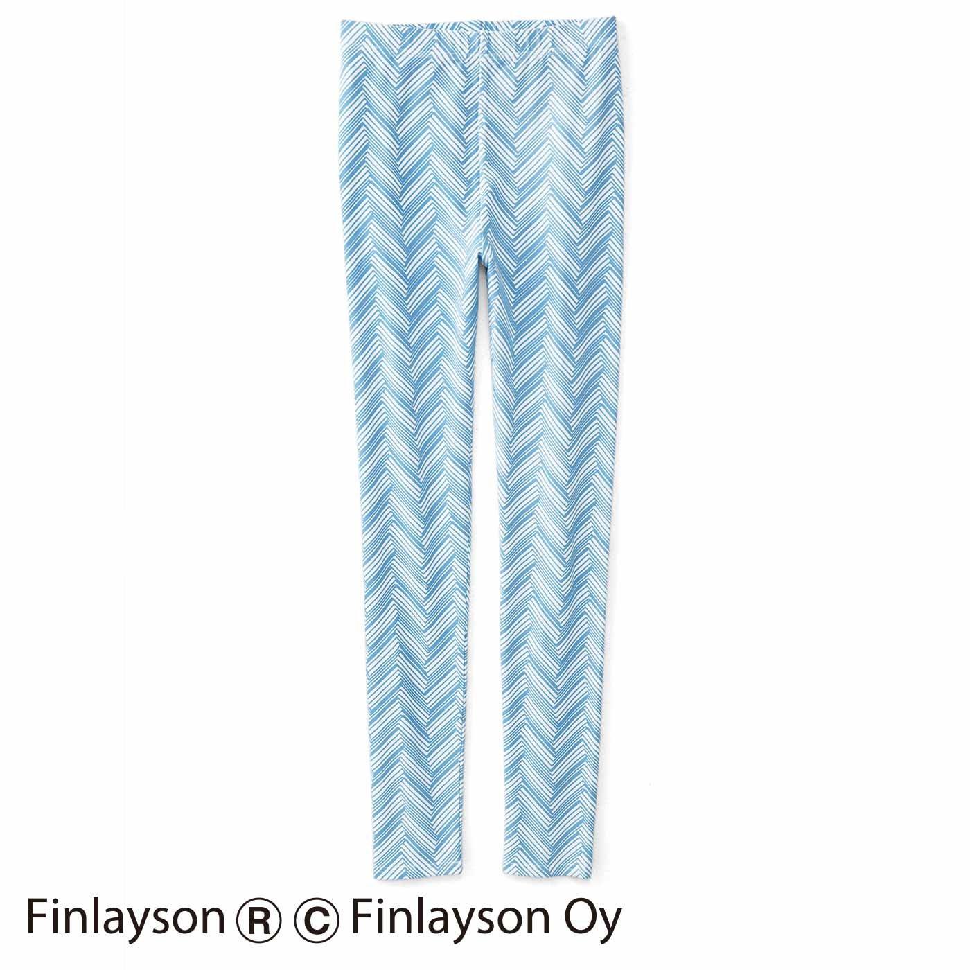 フィンレイソン のびやかなはき心地 カットソーレギンス〈シクサク〉