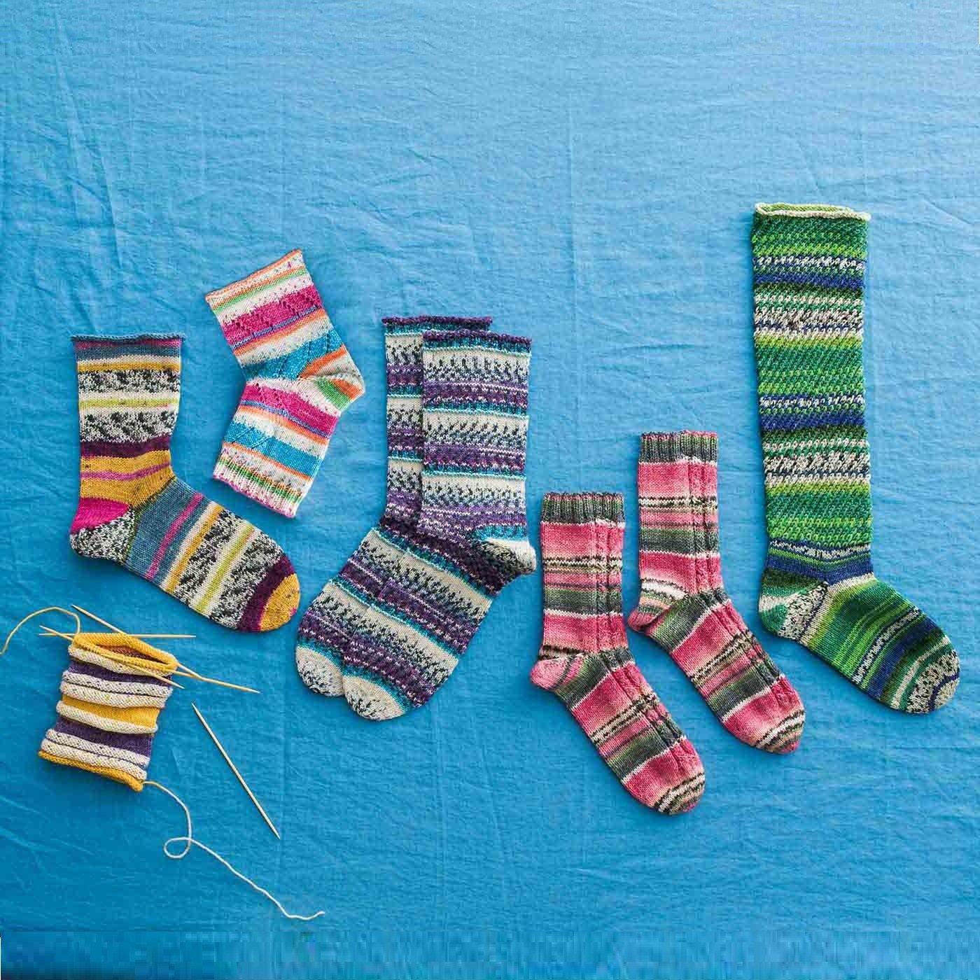 毛糸にふれればみんなしあわせ 魔法の糸Opalで編むソックスと小物の会