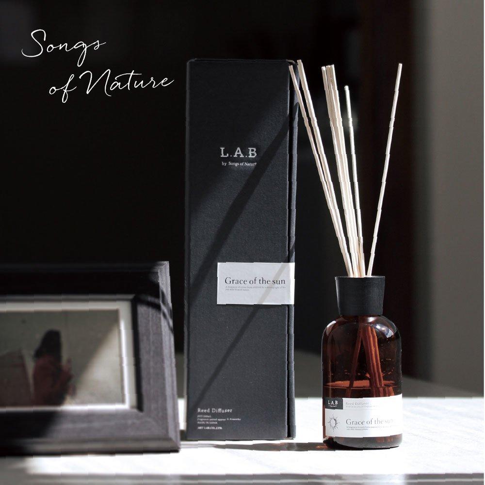 詩を奏でるフレグランス 豊かな香りでワンランク上の時間を L.A.B リードディフューザー
