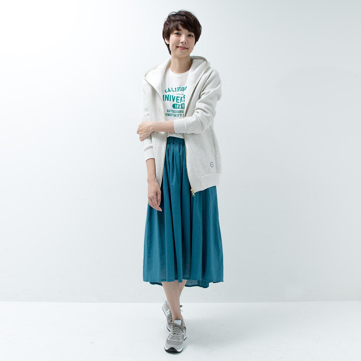 スカートスタイルにも。