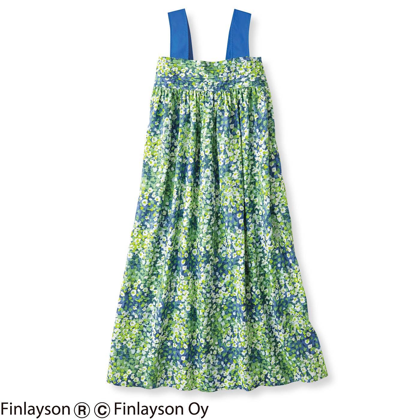 【3~10日でお届け】フィンレイソン 風がそよぐキャミドレス〈レイニッキ〉
