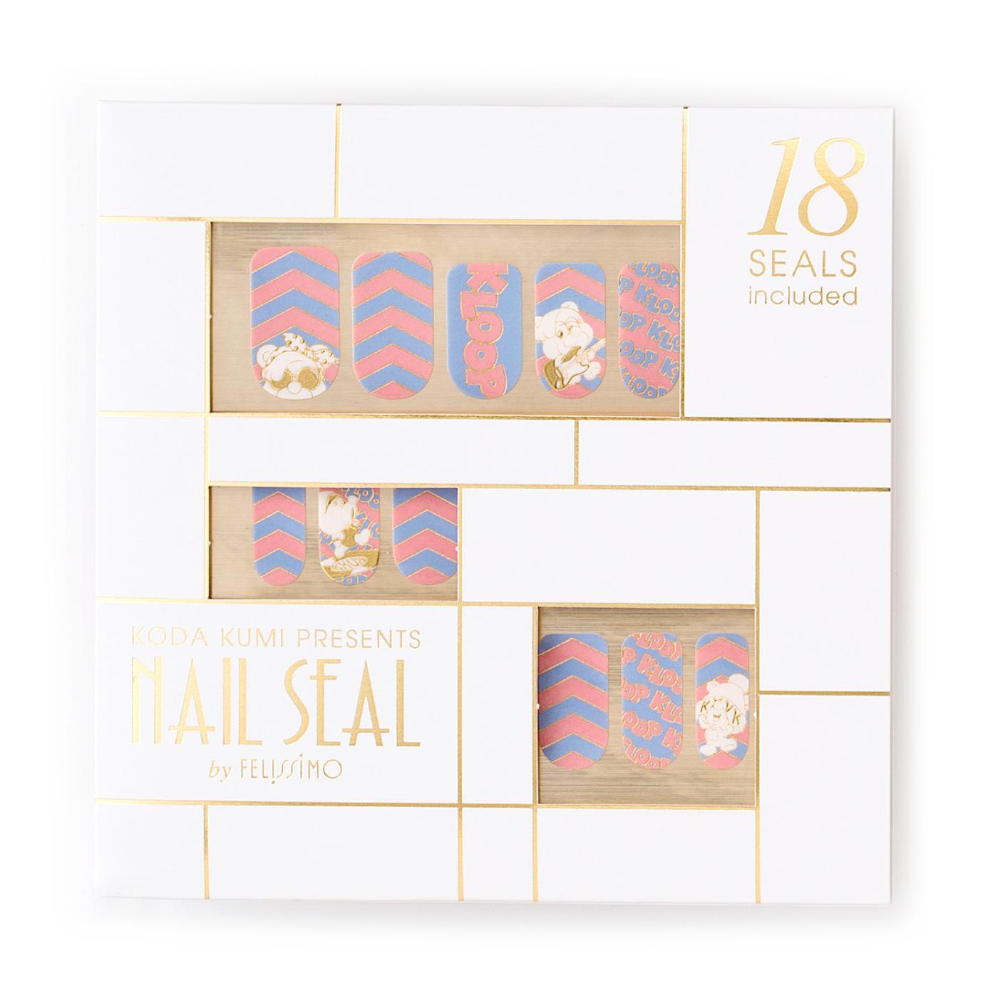 CDサイズのパッケージ。倖田來未さんこだわりのゴールドがベース。
