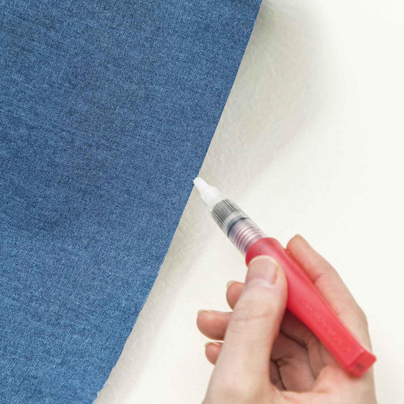 筆ペンタイプのほつれ止め液&詰め替え用カートリッジセット