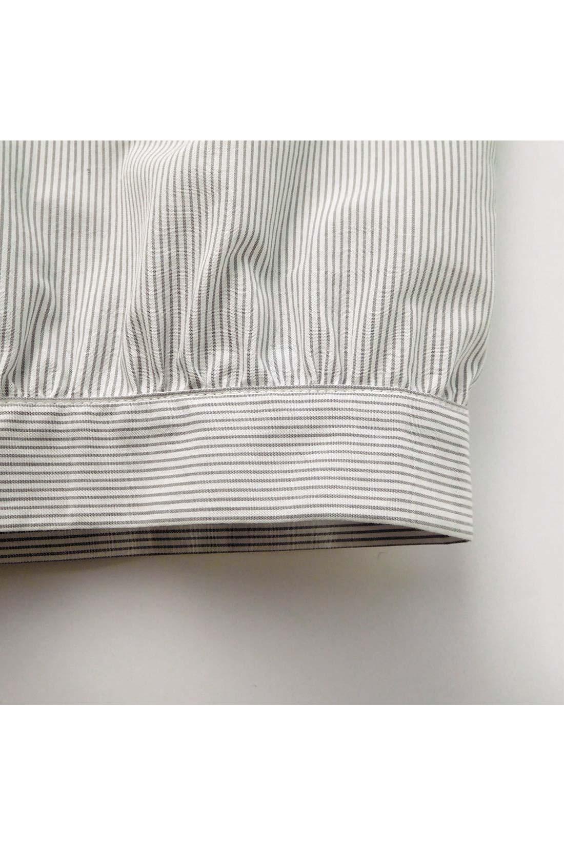 [あえての薄手素材。]ペチパンツとしてはいた時に、ごろごろしないように薄手で作っていますので、1枚では着られません。