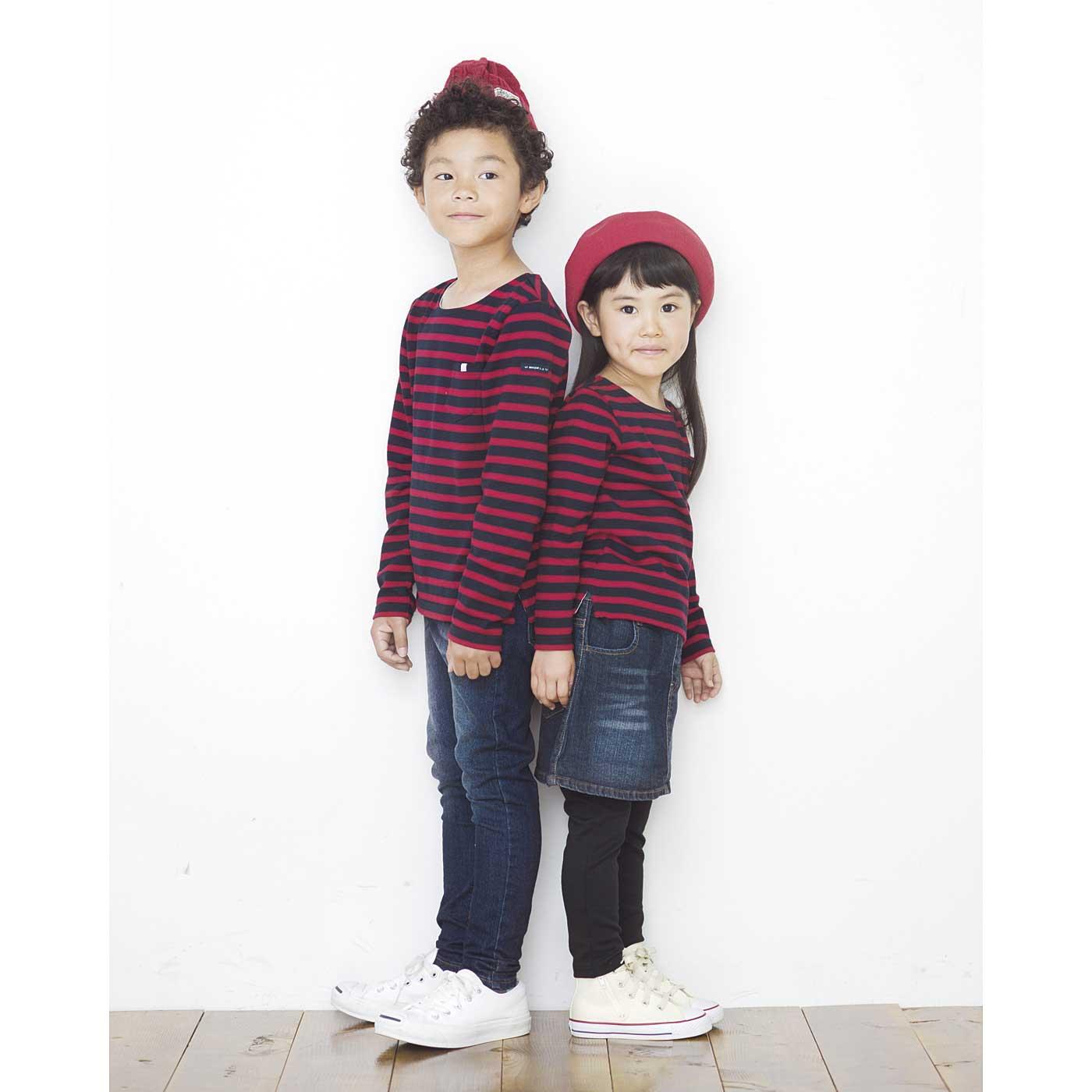 男の子:124cm / 13サイズ 女の子:107cm / 10サイズ