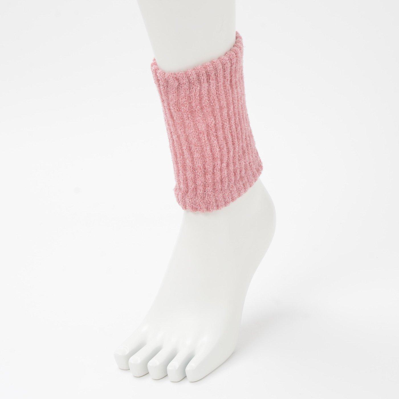 断熱繊維で暖か 内側シルクの手首&足首ウォーマー