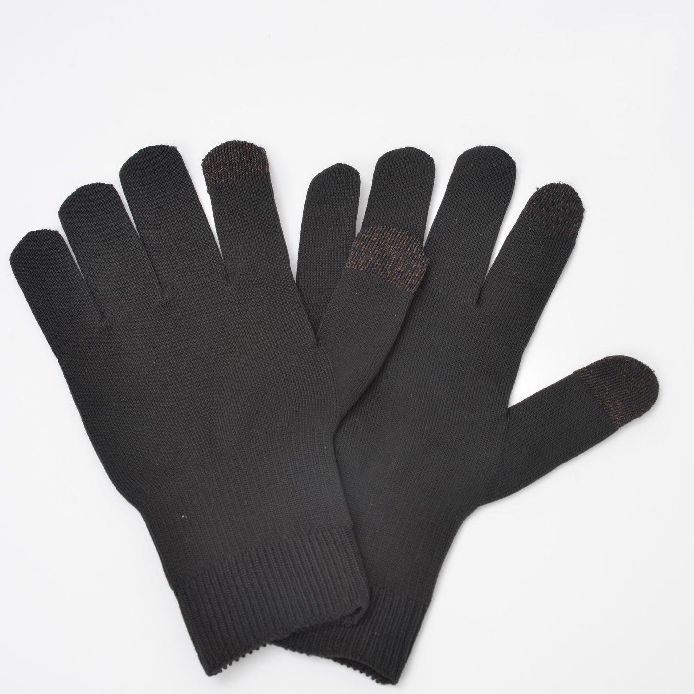 断熱繊維で薄くても暖か スマホ操作らくらく手袋