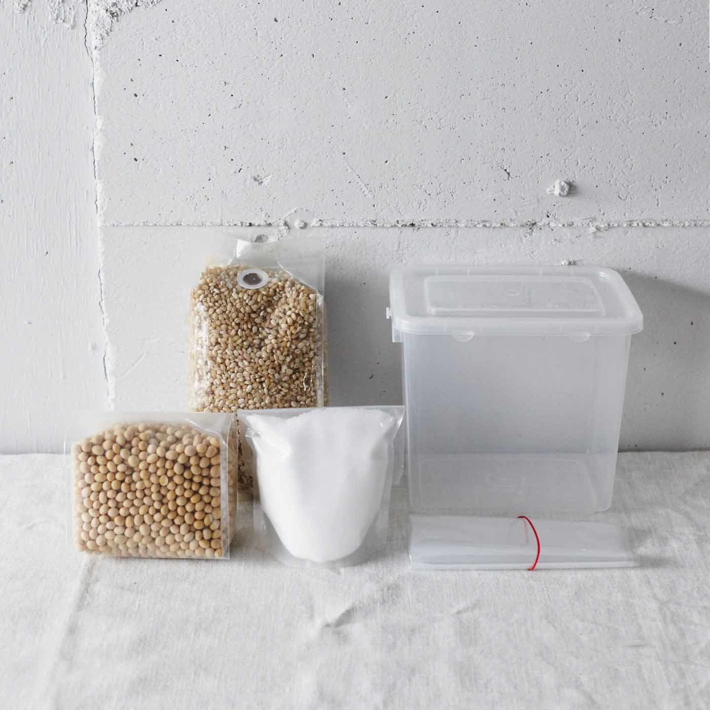 熊本貝島商店の麦みそキット
