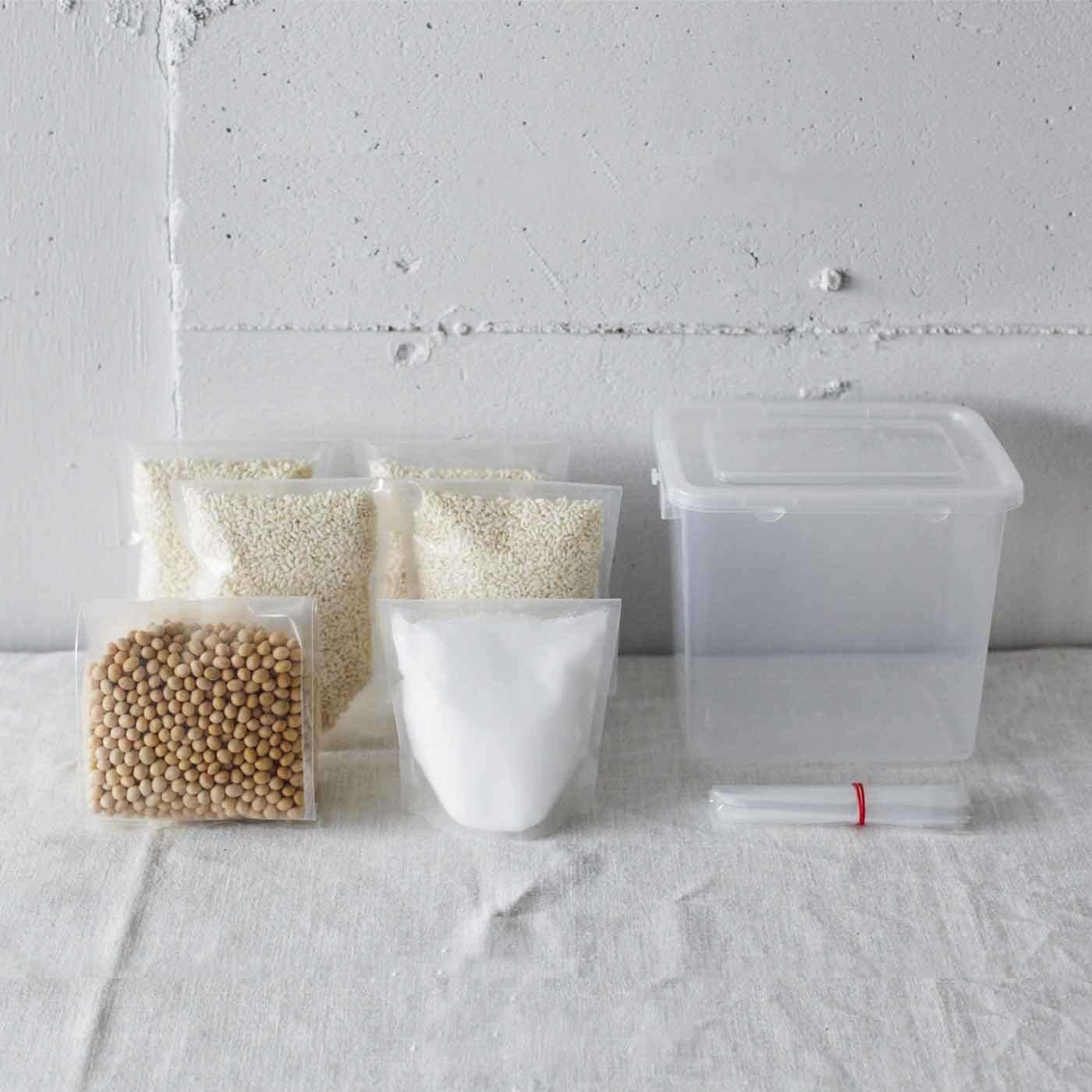 熊本貝島商店の米みそキット