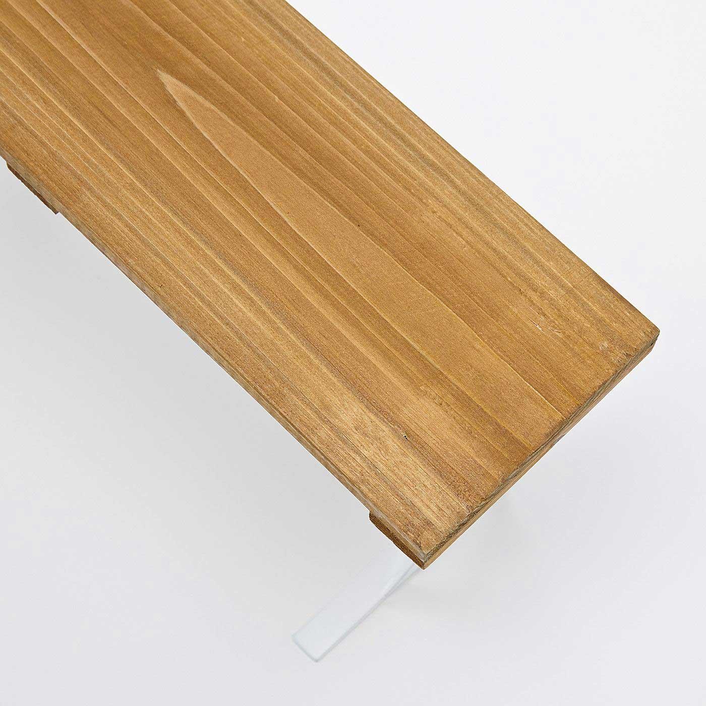 天板は天然木を使用。