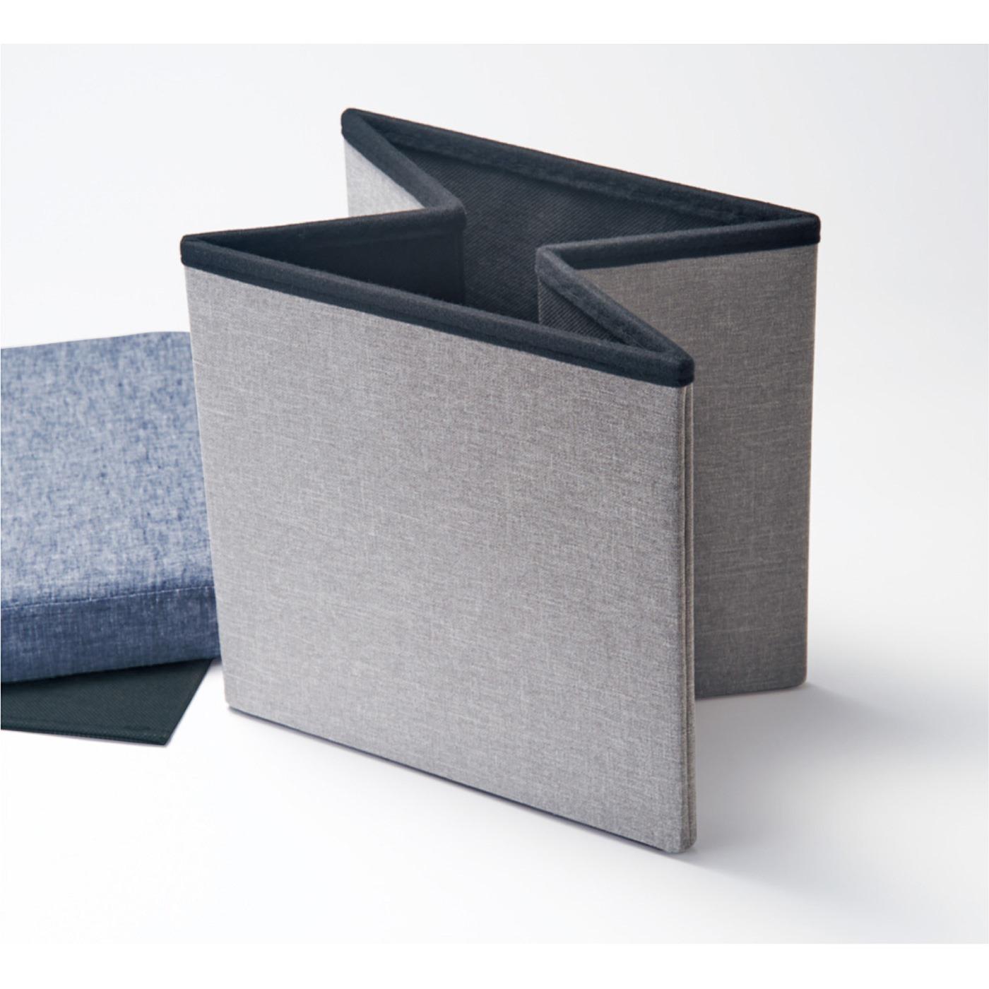 ボックスを組み立てて内側に底板を敷きます。
