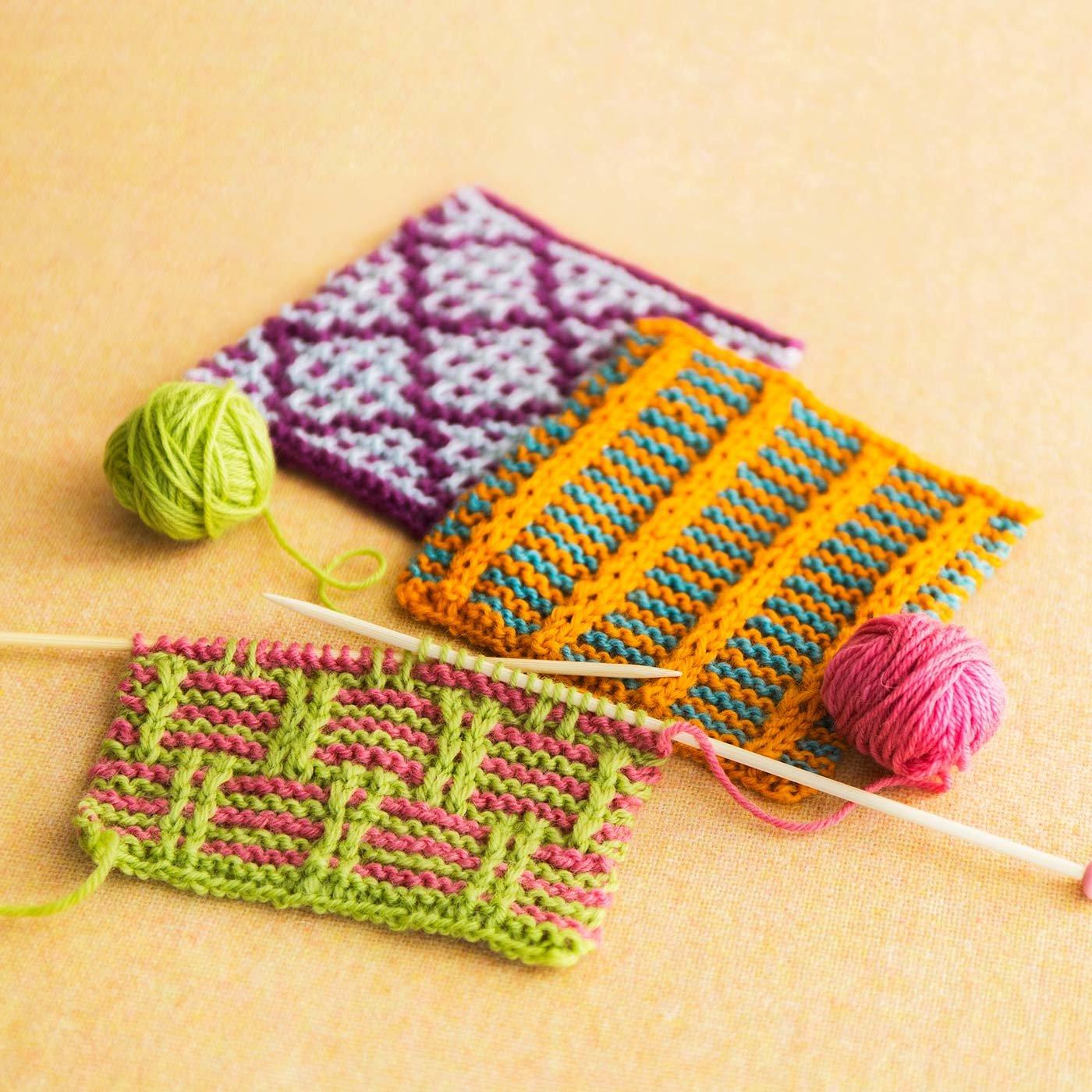 「はじめてさんのきほんのき」風工房さんに教わる 棒針編みの色合わせレッスン